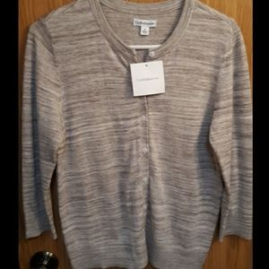 Croft & Barrow NWT Button-up Women's Sweater